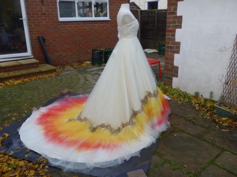 Making The Pheonix Dip Dye Dress Felicity Westmacott,Wedding Dress Patterns For Girls