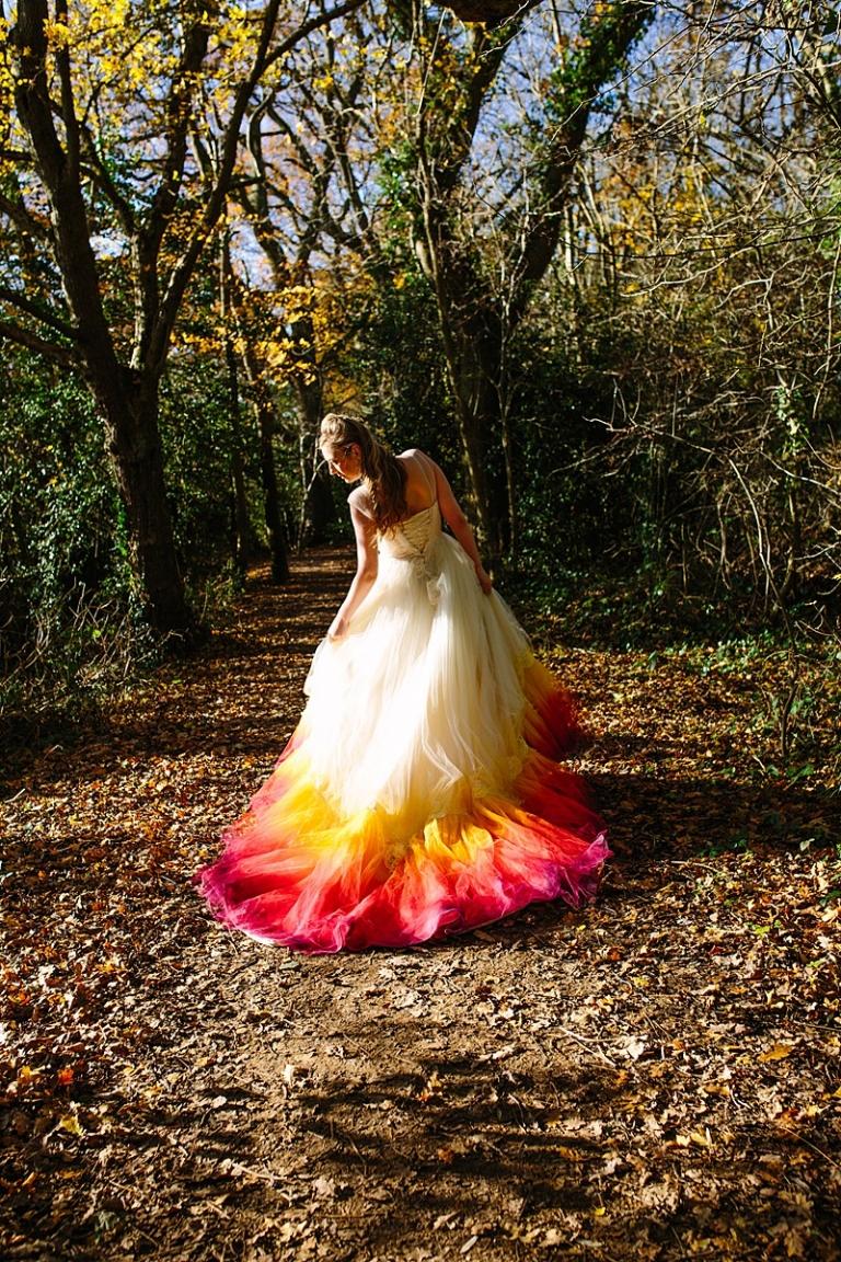 Making The Pheonix Dip Dye Dress Felicity Westmacott