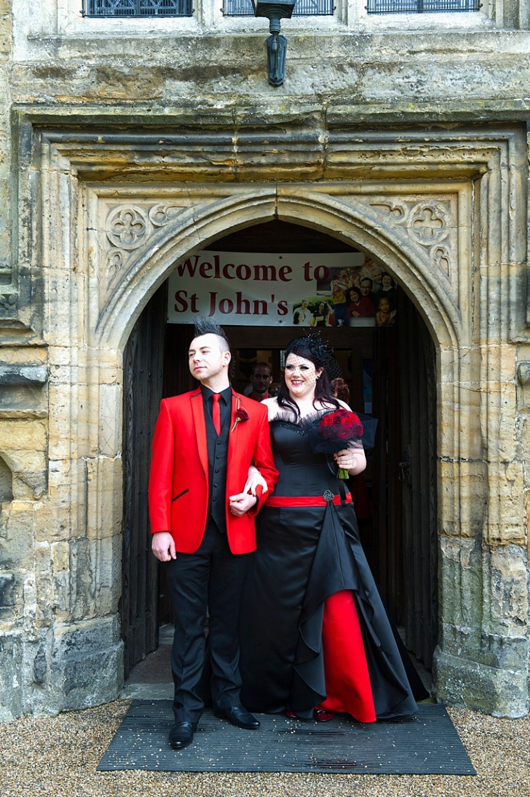 Red And Black Corset Goth Wedding Dress For Faye Felicity Westmacott