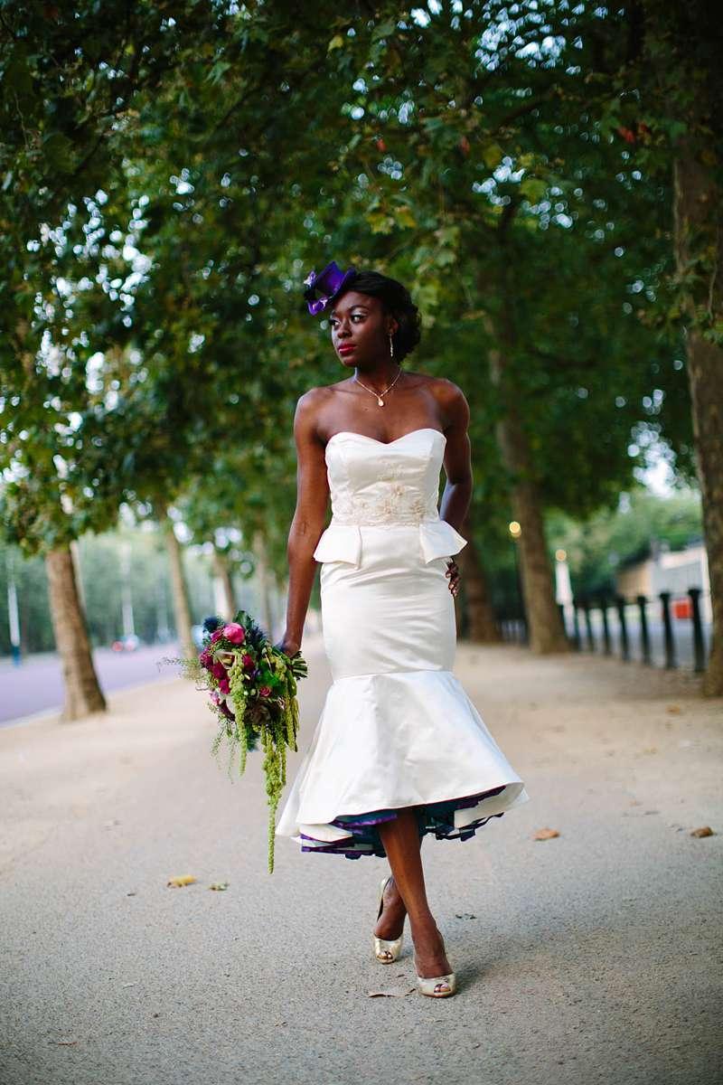 ivory silk satin wiggle dress with peplum